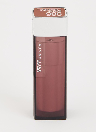 Maybelline Maybelline New York Color Sensational Kremsi Mat Ruj - 986 Melted Chocolate - Kahverengi Kahve